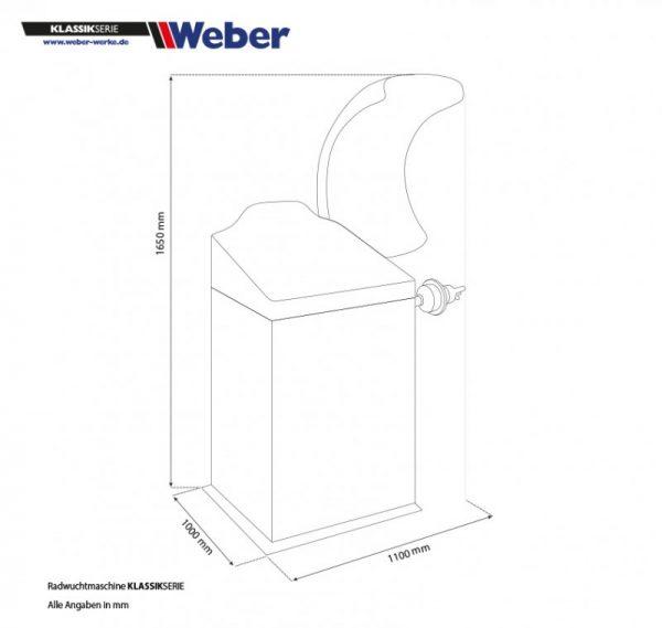 Hjulbalanserare Weber Classic Series